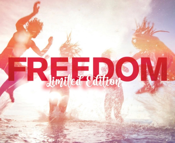 Freedom...limited edition 2020!